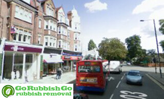 Rubbish Disposal Service sin Barnes