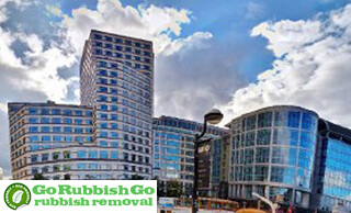 Rubbish Removal in Canary Wharf