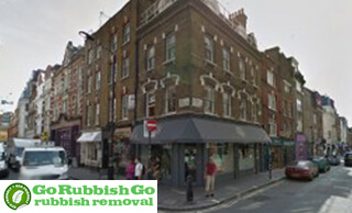 Rubbish Removal in Soho, W1
