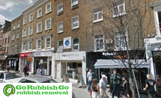 Rubbish Removal in Fitzrovia