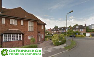 House Clearance in Hampstead
