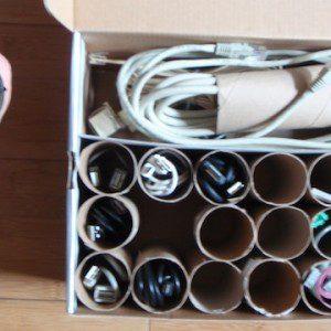 paper tubes organisers