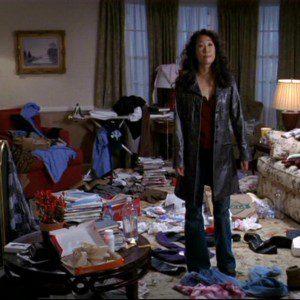 messy apartment