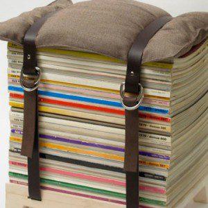 magazines chair